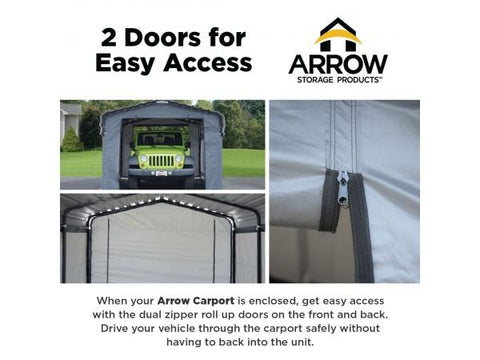 Arrow 20 x 20 Enclosure Cover Only Accessories Arrow Shed