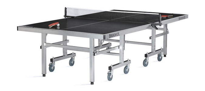 Brunswick 7.0 Ping Pong Smash 9ft. Tennis Table Indoor/Outdoor Pool Table Brunswick Billiards