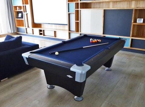 Brunswick 8 Foot Black Wolf Pool Table - Free Installation - The Better Backyard