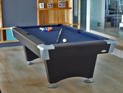 Image of Brunswick 8 Foot Black Wolf Pool Table - Free Installation - The Better Backyard