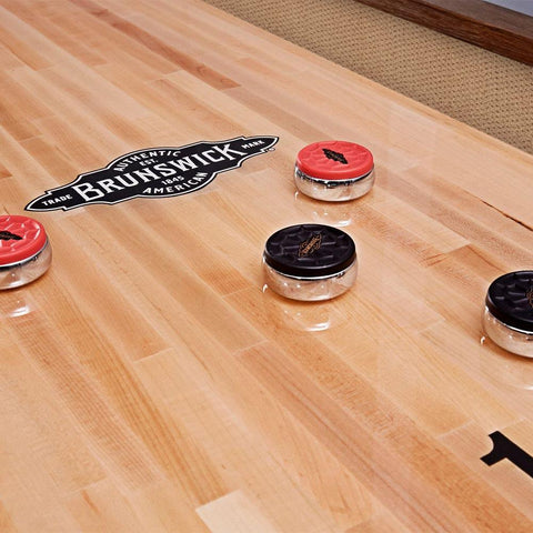 Brunswick Andover II 12FT. Shuffleboard Table - The Better Backyard