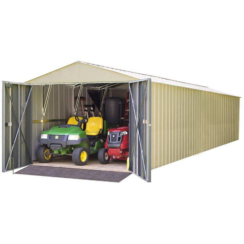 Image of Commander 10x30 Steel Storage Shed Building - The Better Backyard