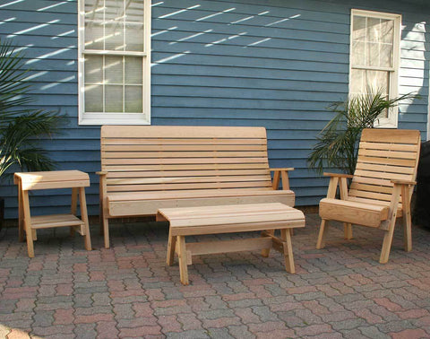 Creekvine Designs Cedar Twin Ponds Set Patio Collection - The Better Backyard