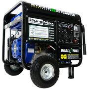 Image of DuroMax 10000-Watt Electric Start Gas/Propane Portable Generator - The Better Backyard
