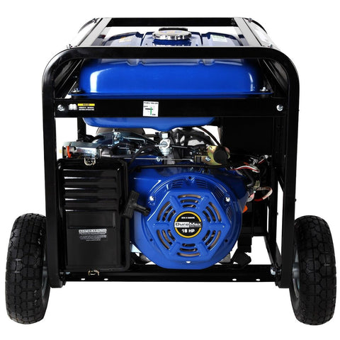 DuroMax 10000-Watt Electric Start Gas/Propane Portable Generator - The Better Backyard