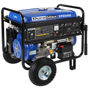 Image of DuroMax 16-Hp Gas 8500 Watt with Electric Start and Wheel Kit Generator - The Better Backyard