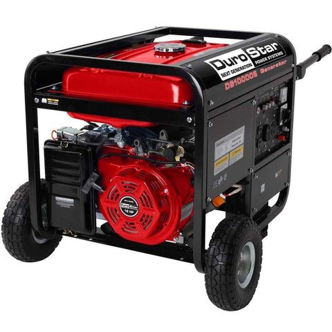 Image of DuroStar 10,000-Watt 18-HP Gas w/ Electric Start and Wheel Kit Generators - The Better Backyard