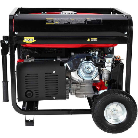 DuroStar 10,000-Watt 18-HP Gas w/ Electric Start and Wheel Kit Generators - The Better Backyard