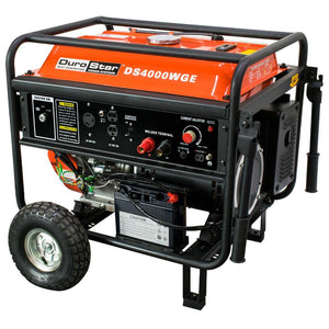 DuroStar 4000 Watt 210 Amp Welding Portable w/ Electric Start Generator - The Better Backyard