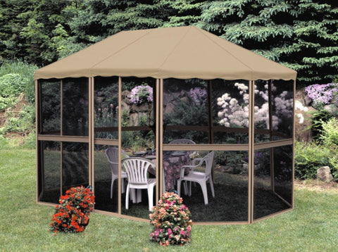 Gazebo Penguin Oblong Sunroom 13'x9' Solarium Gazebo Penguin