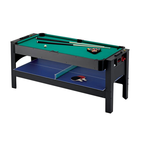 GLD Fat Cat 3 In 1 Flip Pool, Ping Pong, Air Hockey Table - The Better Backyard