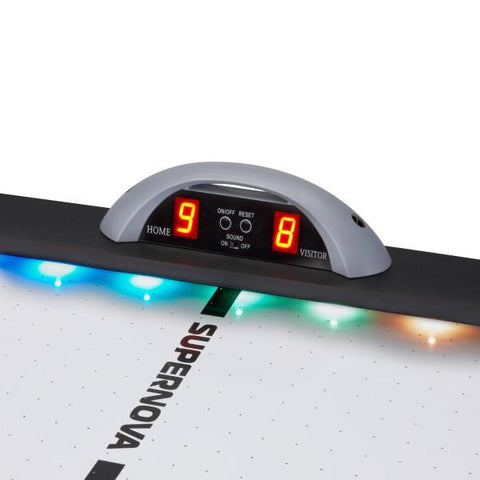 Image of GLD Fat Cat Supernova LED Air-Powered Hockey Table - The Better Backyard