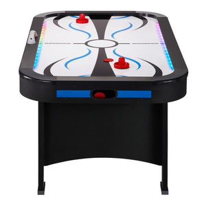 GLD Fat Cat Supernova LED Air-Powered Hockey Table - The Better Backyard