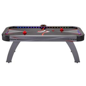 GLD Fat Cat Volt LED Illuminated Air-Powered Hockey Table - The Better Backyard