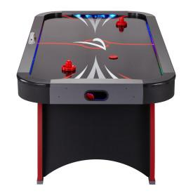 Image of GLD Fat Cat Volt LED Illuminated Air-Powered Hockey Table - The Better Backyard