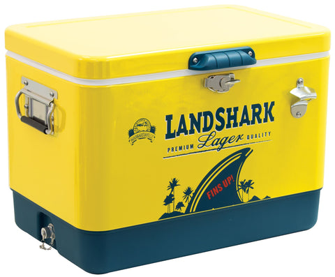 Margaritaville Landshark 13 Gallon Cooler with Bottle Opener Cooler Margaritaville