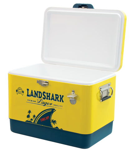 Image of Margaritaville Landshark 13 Gallon Cooler with Bottle Opener Cooler Margaritaville