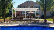 Image of New England 12x24 Pergola Regency Grande Pergola New England Arbors