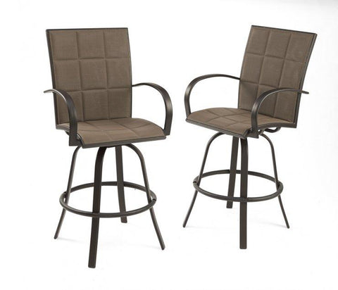 Image of Outdoor Chair Empire Barstools - The Better Backyard