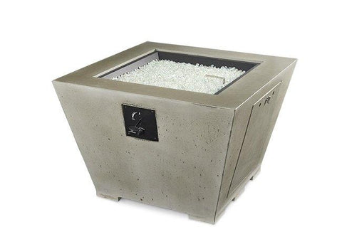Outdoor Company 24x24 Cove Square Gas Fire Pit Bowl - The Better Backyard