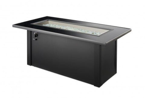 Image of Outdoor Company Monte Carlo Linear Gas Fire Pit Table - The Better Backyard