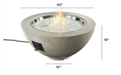 "Image of Outdoor Cove 30"", 20"" and 12"" Gas Fire Pit Bowl - The Better Backyard"