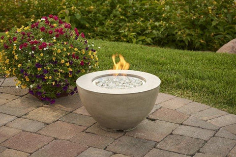"Outdoor Cove 30"", 20"" and 12"" Gas Fire Pit Bowl - The Better Backyard"