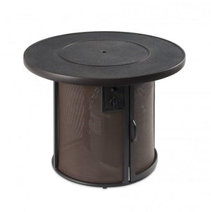 Outdoor Stonefire Gas Fire Pit Table - The Better Backyard