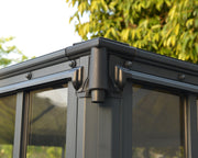 Image of Palram Ledro Gazebo 10 x 14 Grey and Bronze Gazebo Palram