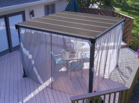 Palram Milano/Martinique Gazebo Netting Set Solarium Palram
