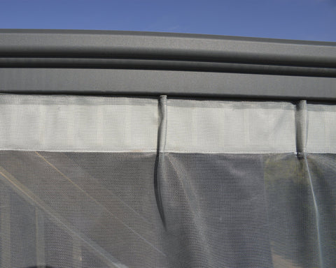 Palram Palermo/Milano/Martinique Gazebo Netting Set Accessories Palram