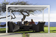 Image of Paragon 10x12 Novara with Louvered Canopy Pergola - The Better Backyard
