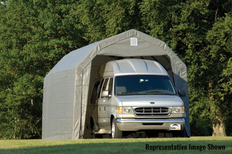 Shelter Logic 20x12x11 Barn Shelter - The Better Backyard