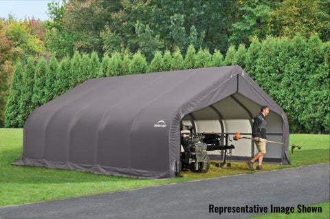 Image of Shelter Logic 20x18x11 Peak Style Shelter - The Better Backyard