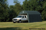 Image of Shelter Logic 24x12x11 Barn Shelter - The Better Backyard