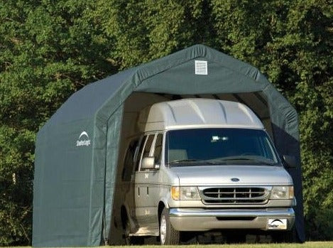 Shelter Logic 24x12x9 Barn Shelter - The Better Backyard