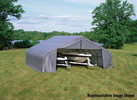 Shelter Logic 24x22x11  Peak Style Shelter - The Better Backyard