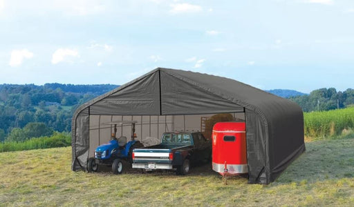Shelter Logic 24x28x20 Sheltercoat  Custom Shelters - The Better Backyard