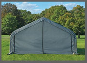 Image of Shelter Logic 28x12x8  Peak Style Shelter - The Better Backyard