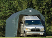 Image of Shelter Logic 28x12x9 Barn Shelter - The Better Backyard