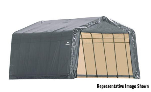 Shelter Logic 28x13x10 Peak Style Shelter - The Better Backyard