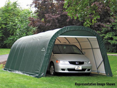 Shelter Logic 28x13x10 Round Style Shelter - The Better Backyard