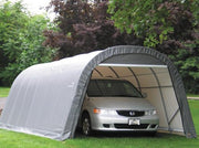 Image of Shelter Logic 28x13x10 Round Style Shelter - The Better Backyard