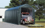 Image of Shelter Logic 28x15x12 Peak Style Shelter - The Better Backyard