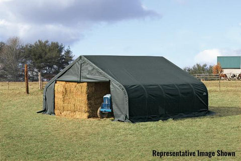 Shelter Logic 28x22x11 Peak Style Shelter - The Better Backyard