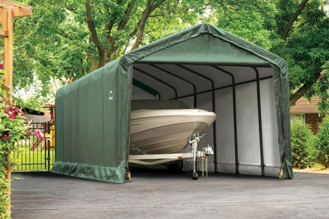 Shelter Logic 30x12x11 Tube Storage Shelter - The Better Backyard