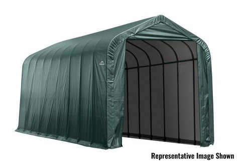 Shelter Logic 40x16x16 Cover Peak Style Shelter - The Better Backyard