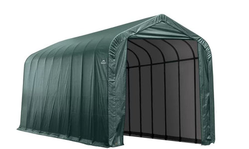 Shelter Logic 44x16 Sheltercoat Custom Shelters - The Better Backyard
