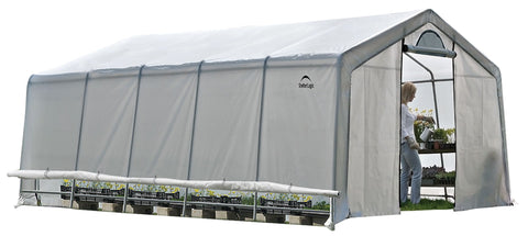ShelterLogic GrowIT Heavy Duty 12 x 20 ft. Greenhouse Greenhouses ShelterLogic