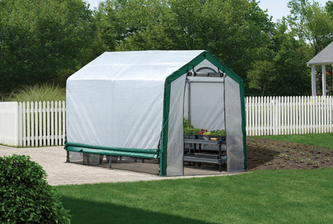 ShelterLogic Organic Growers Greenhouse 6x8x6.5 ft Greenhouses ShelterLogic